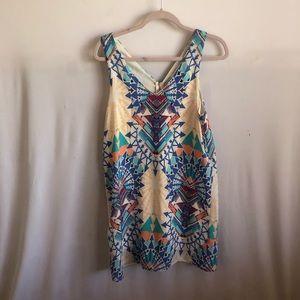 Geometric Dress Size Medium (Nordstrom BP)